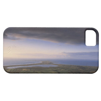 landscape with an overcast sky iPhone 5 cases