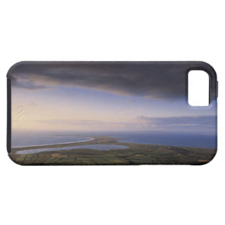 landscape with an overcast sky iPhone 5 case