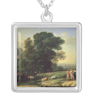 Landscape with Cephalus Silver Plated Necklace