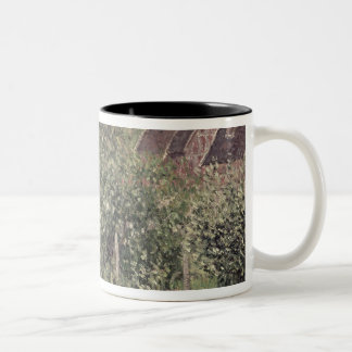Landscape with Cottage Roofs, 1899 Two-Tone Coffee Mug