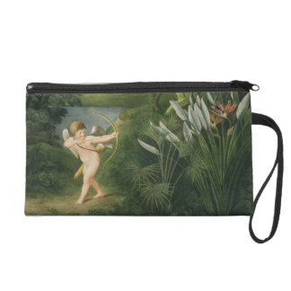 Landscape with Cupid aiming an arrow at a Parrot o Wristlets