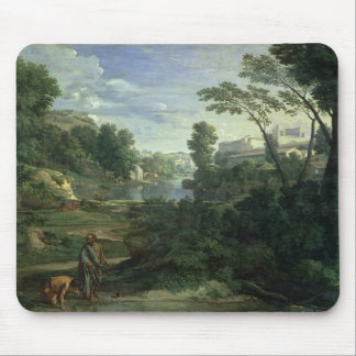 Landscape with Diogenes, 1648 Mouse Mat