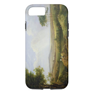 Landscape with Figures (oil on panel) iPhone 8/7 Case