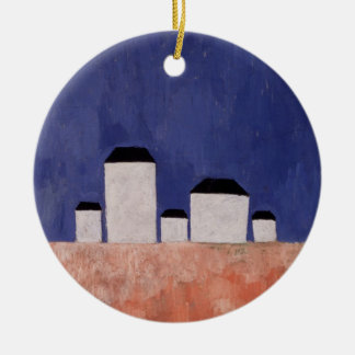 Landscape with Five Houses, c.1932 Christmas Ornament