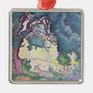 Landscape with Goats, 1895 Christmas Ornament