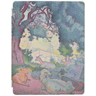 Landscape with Goats, 1895 iPad Cover