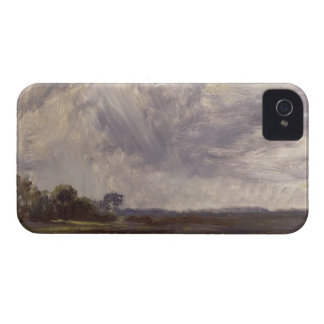 Landscape with Grey Windy Sky, c.1821-30 (oil on p iPhone 4 Cover