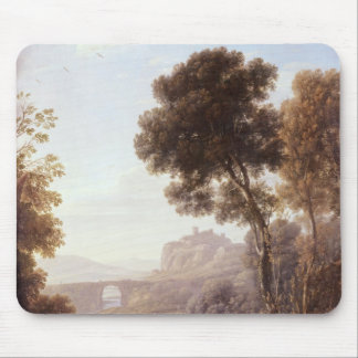 Landscape with Hagar and the Angel, 1646 Mouse Mat