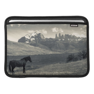 Landscape with horses 2 sleeve for MacBook air