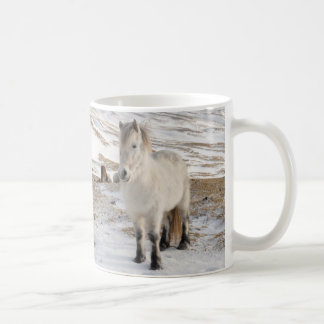 Landscape with Icelandic Horses Coffee Mug