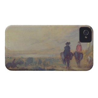 Landscape with Lake and two Figures Riding, previo Case-Mate iPhone 4 Case