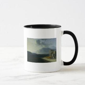 Landscape with Mount Stromboli
