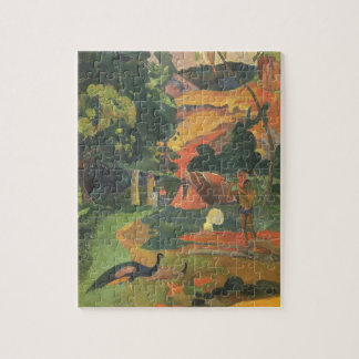 Landscape with Peacocks by Paul Gauguin Jigsaw Puzzle