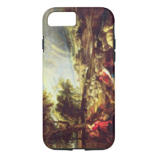 Landscape with Rainbow (oil on canvas) iPhone 8/7 Case