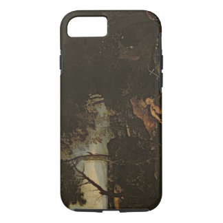 Landscape with St. Jerome iPhone 8/7 Case