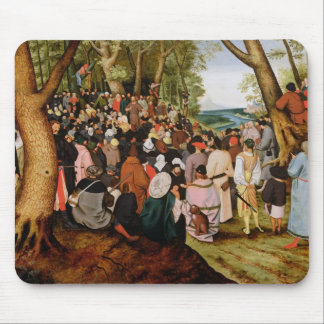 Landscape with St. John the Baptist Preaching Mouse Pad