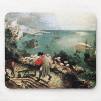 Landscape with the Fall of Icarus - 1558 Mouse Mat