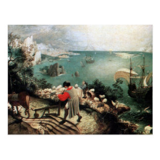 Landscape with the Fall of Icarus - 1558 Postcard