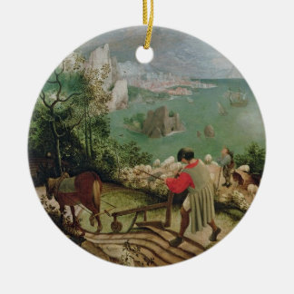 Landscape with the Fall of Icarus, c.1555 Christmas Ornament
