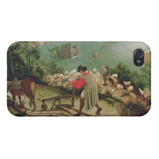 Landscape with the Fall of Icarus, c.1555 iPhone 4/4S Cover