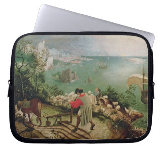 Landscape with the Fall of Icarus, c.1555 Laptop Sleeve