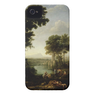 Landscape with the Finding of Moses iPhone 4 Cover
