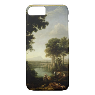 Landscape with the Finding of Moses iPhone 8/7 Case