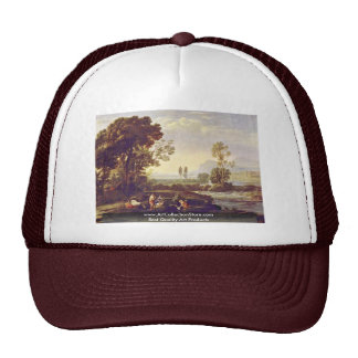 Landscape With The Flight To Egypt Mesh Hat