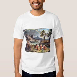 Landscape With The Peace Offerings Of Noah By Koc Tshirts