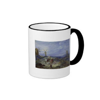 Landscape with Two Windmills, 1612 Ringer Coffee Mug