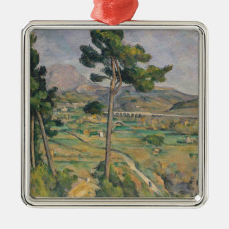 Landscape with viaduct christmas ornament