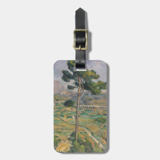 Landscape with viaduct luggage tag