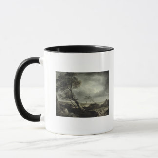 Landscape with Village: Stormy Effect Mug
