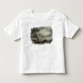 Landscape with Village: Stormy Effect Toddler T-Shirt