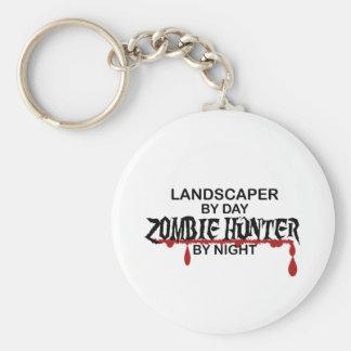 Landscaper Zombie Hunter Keychains