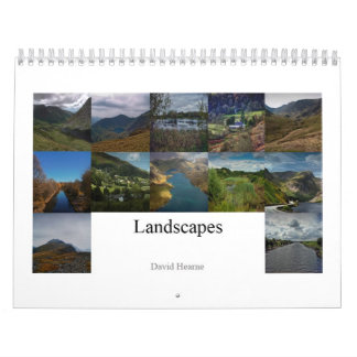 Landscapes and Scenes Calendar