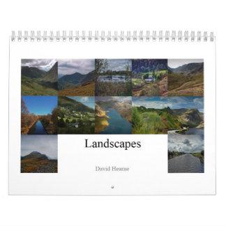 Landscapes and Scenes Calendar