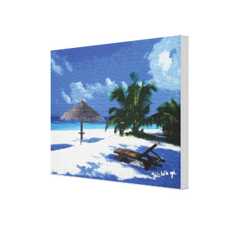 Landscapes Maldives Canvas Print
