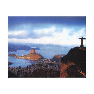 Landscapes Nature Brazil Rio De Janeiro Canvas Print