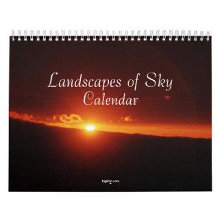 landscapes of sky calendar