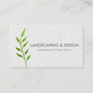 Forestry business cards business card printing zazzle uk landscaping design modern business card reheart Choice Image