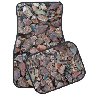 Landscaping Lava Rock Rubble and Stones Floor Mat
