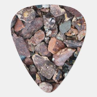 Landscaping Lava Rock Rubble and Stones Plectrum