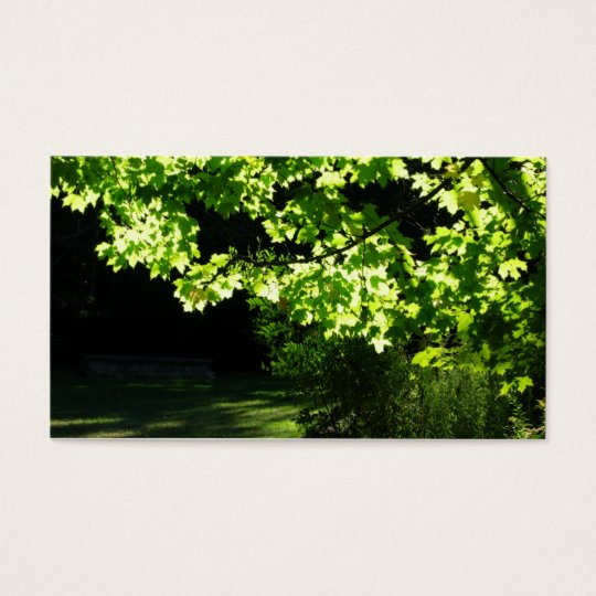 Landscaping / Lawn Care Tree Business Card