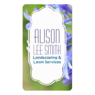 Landscaping/Lawn Services/Gardener Pack Of Standard Business Cards