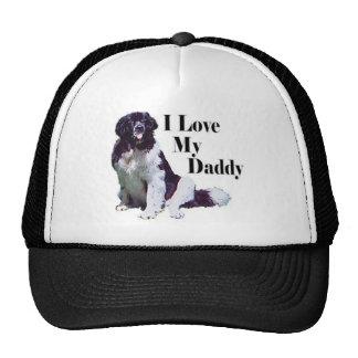 Landseer Loves His Daddy Cap