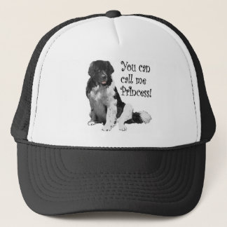 Landseer NewfoundlandPrincess Trucker Hat