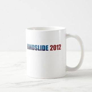 Landslide 2012 basic white mug
