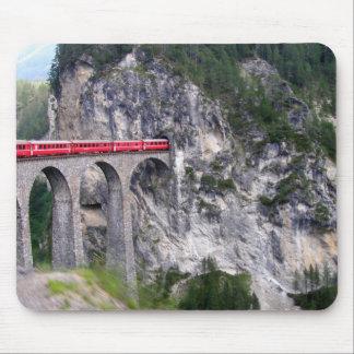 Landwasser Viaduct in Switzerland Mouse Mat