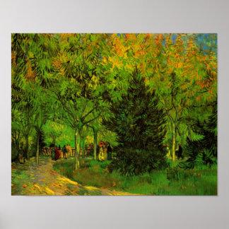 Lane Public Garden Arles Van Gogh Fine Art Poster